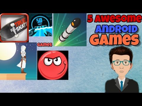 Top 5 Awesome Games For Android| You Mast Play!| Game Mechanic