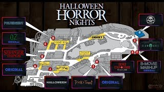 Someone Leaked A Map Of Halloween Horror Nights 28????