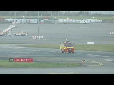 Dublin air post fire service rescue 11 reported to a call to the VIP