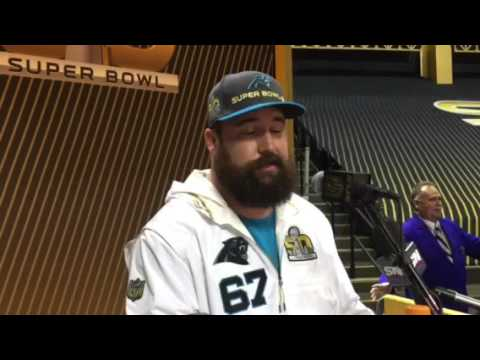 Panthers center Ryan Kalil on who would portray him in a movie