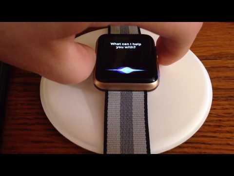 Apple Watch, Series 3, GPS, 42mm Case, Gold Aluminum, Pink Sand Sport Band Unboxing & Setup