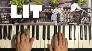 Koe no Katachi - LIT (Piano Tutorial Lesson)
