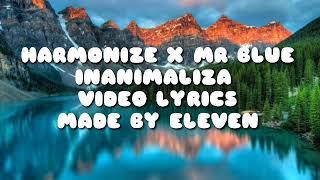 INANIMALIZA(harmonize ft Mr blue)lyrics video.  Harmonize ft Mr blue -inanimaliza (official video)