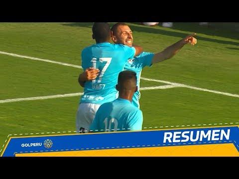 Resumen: Sporting Cristal vs. Universidad San Martín (4-1)