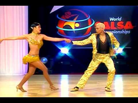 Sarahi Gonzalez & Kevin Alzate (Cabaret Division) (World Salsa Championships) (Colombia)