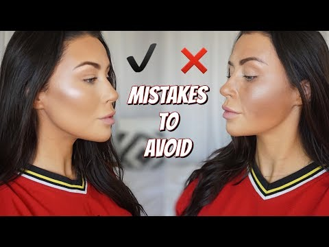 CONTOUR DO'S AND DONT'S | How to contour - what is contourin