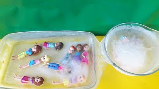 Polly Pocket Buz Tutan Arkadaşlarını ve Minişleri Kurtarıyor