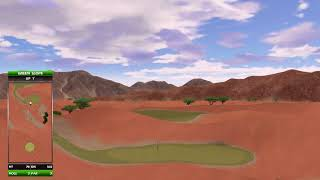 Golden Tee Great Shot on Safari Dunes!