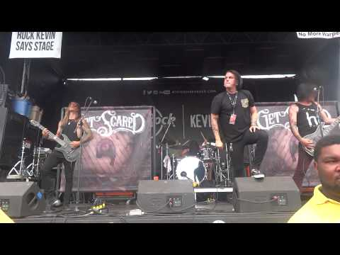 Get Scared Vans Warped Tour 2014