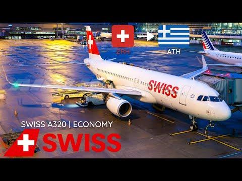 TRIP REPORT | SWISS International A320-200 | Zürich (ZRH) to Athens (ATH) | Economy