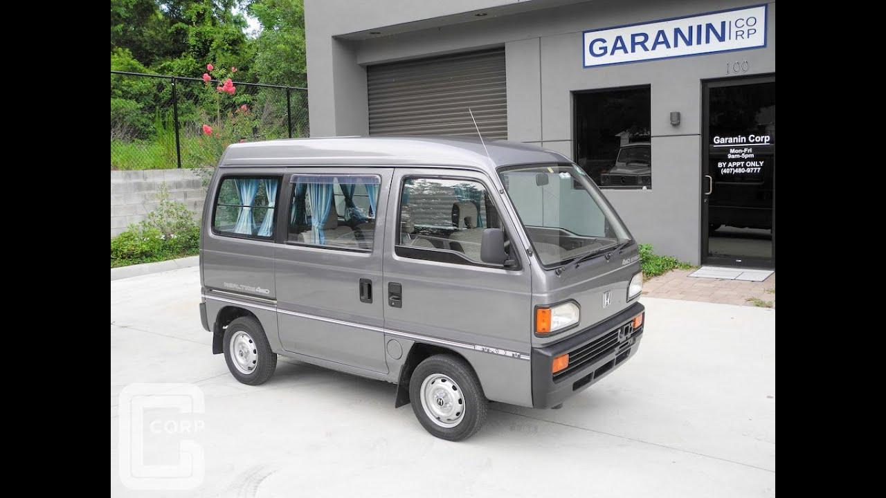 1989 Honda Acty Street Realtime AWD Kei Mini Van