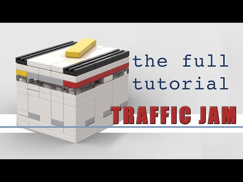 Full Tutorial: How To Build TRAFFIC JAM Lego Puzzle Box - Level 7