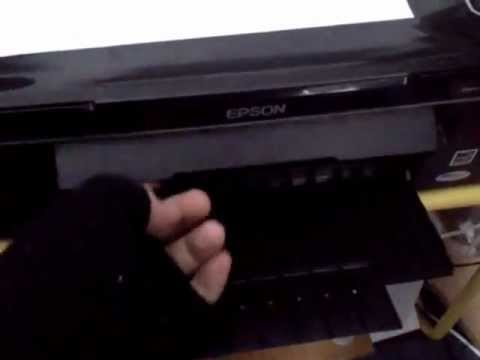Order a paper jam in the printer epson l210