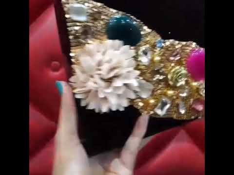Black beautiful Resin clutch❤