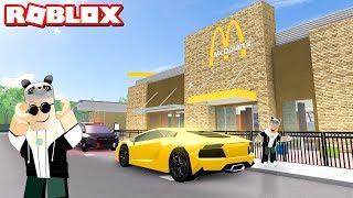 Yeni Arabamızla Hamburgerciye Gittik! - Panda ile Roblox Pacifico