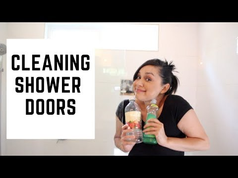 How to Clean Shower Doors | Hard Water Stains