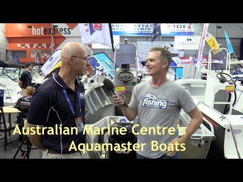 2018 Brisbane Boat Show   Australian Marine Centre and Aquamaster