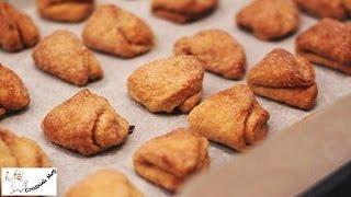 Творожное печенье ракушки  Гусиные лапки