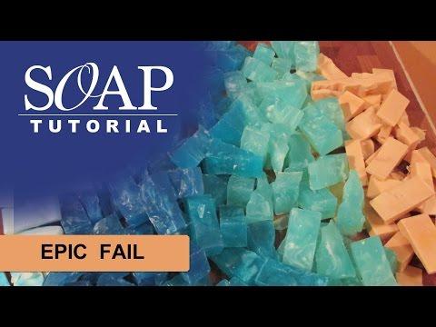 Epic Fail Melt And Pour Soap
