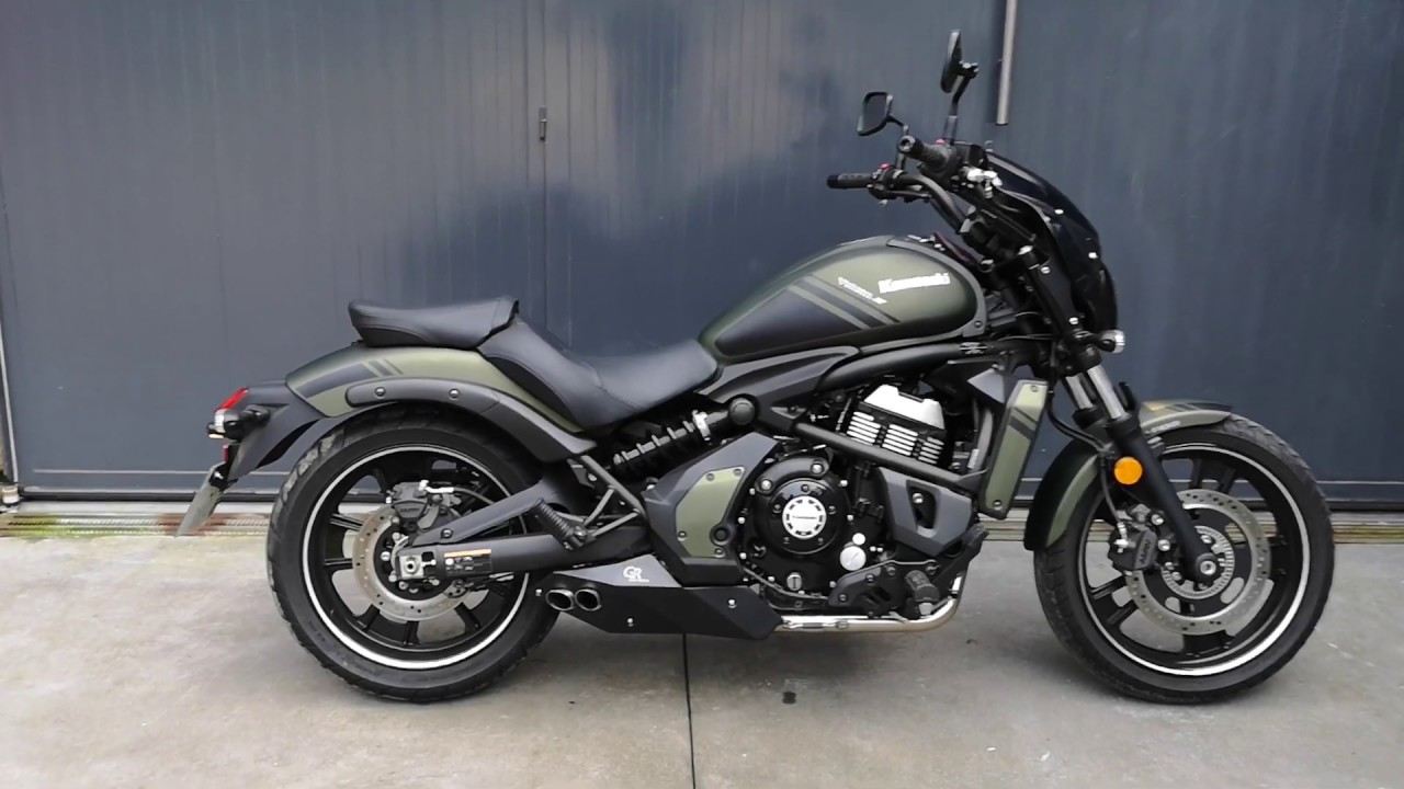 complete 2 1 exhaust system gr for kawasaki vulcan 650s 2019