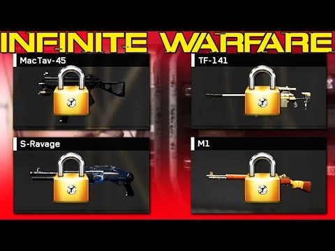 UNLOCKING THE BEST CLASSIC WEAPON! (Infinite Warfare Best Weapons)