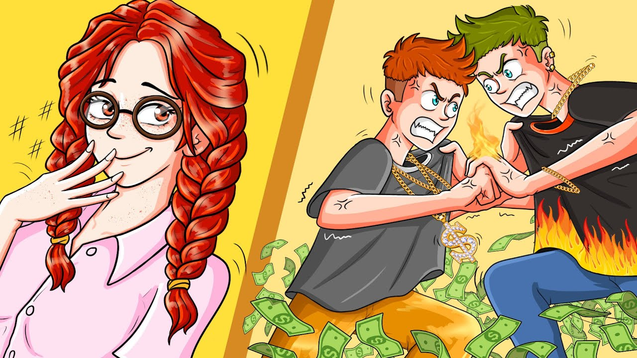 Download I Made The 2 School Billionaire Boys Fight Over Me | WOA Animated Story