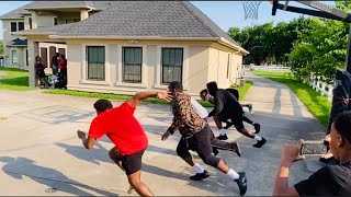 INTENSE PAINTBALL BASKETBALL CHALLENGE !! (IT GETS SERIOUS!)