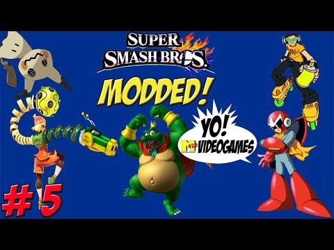 Super Smash Bros. for Wii U! 8 Player Modded Part 5 - YoVideogames
