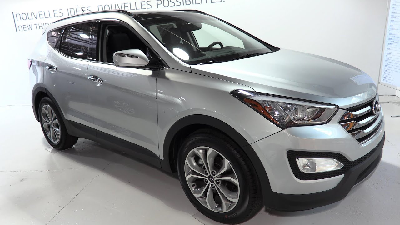2015 hyundai santa fe limited sport 2 0t awd walkaround. Black Bedroom Furniture Sets. Home Design Ideas