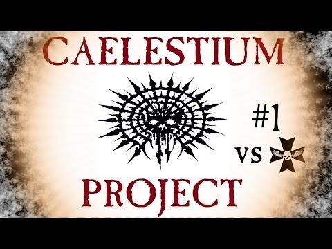 Warhammer 40000 Space Marine. Caelestium Project VS Black Templars clan |