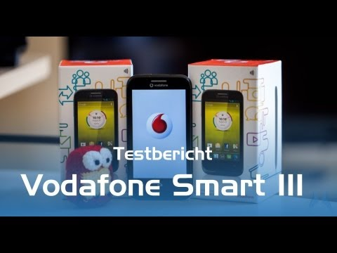 Vodafone Smart III Test (Deutsch)