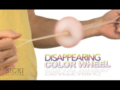 Disappearing Color Wheel - Sick Science! #182