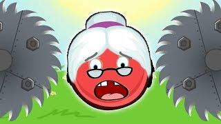 Новый КРАСНЫЙ ШАР, Шарик спасает бабушку  мультик игра Детский летсплей #64