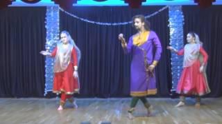 """akshaya kathak-dadra """"Rangi Sari Gulabi Chunariya Re"""" Moscow 2015"""