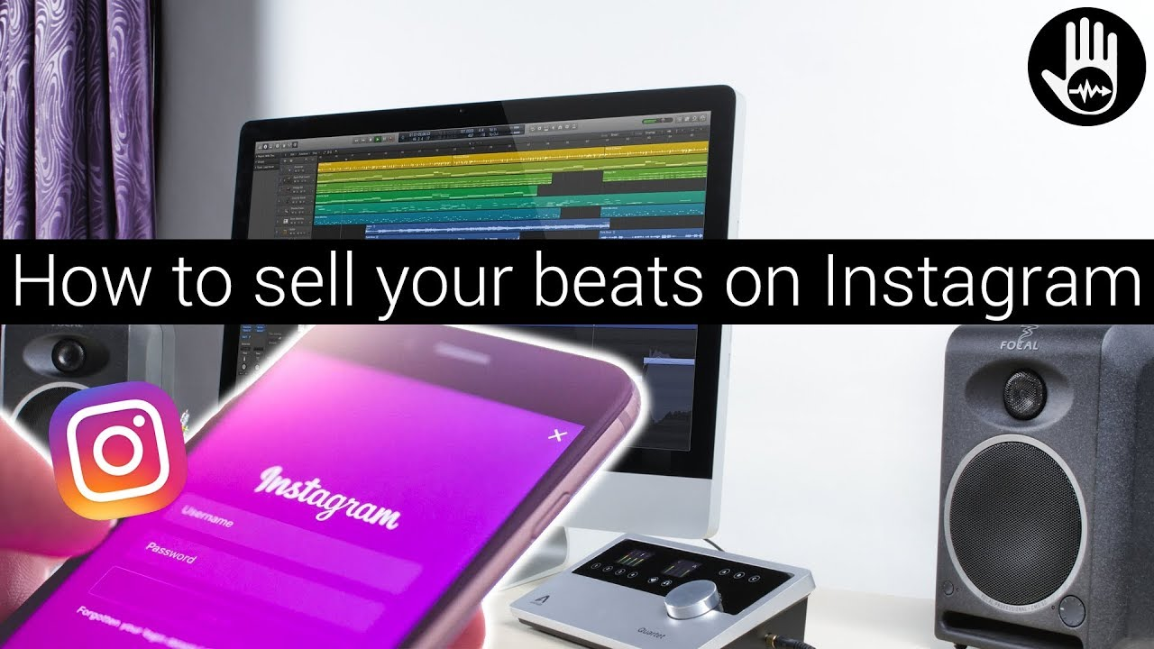 How to sell your beats on Instagram (Marketing Your Beats Online Episode 2)