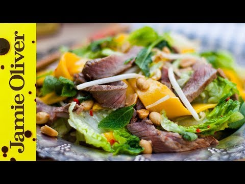 Beef and Mint Salad