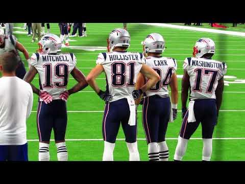 New England Patriots Pregame Warm Ups