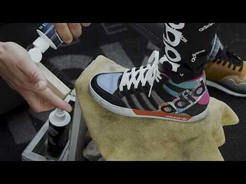 Cleaning Kids Shoes with SHOE MGK