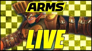 Arms LIVE - MAX BRASS BABY!  w/ Krimson Kreamer