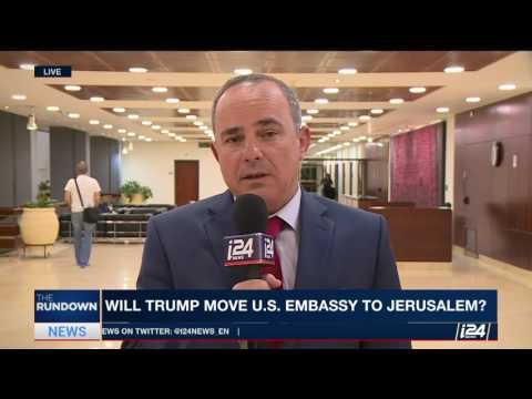 Israel Energy Minister Yuval Steinitz speaks on the Trump visit