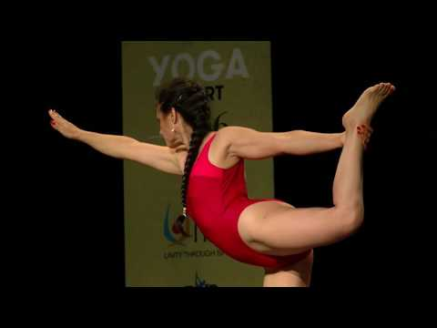 World Championship of Yoga Sports 2016 - SENIOR WOMEN- July 3rd  - Cinthia Moran  5th place