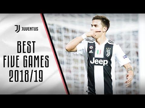 Best 5 Juventus games: 2018/19
