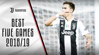 Best 5 Juventus games: 2018/19