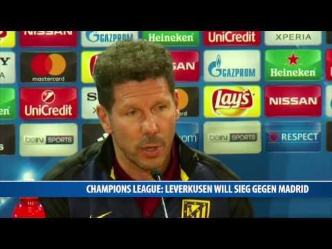 Champions League: Leverkusen will Sieg gegen Madrid