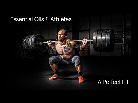 Essential Oils are a Perfect Fit for Athletes and Active Lifestyles!
