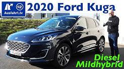 2020 Ford Kuga 2.0 EcoBlue Hybrid Vignale MHEV - Kaufberatung, Test deutsch, Review, Fahrbericht