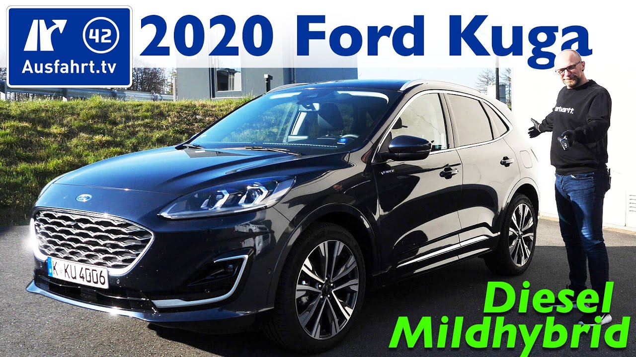 2020 Ford Kuga Plug In Hybrid Exterior And Interior Walkaround 2019 Frankfurt Motor Show Youtube