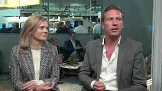 Ivo Rook and Åsa Tamsons from Mobile World Congress - Americas 2018