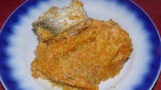 Рыба под маринадом на сковороде. Вкусный не классический рецепт.