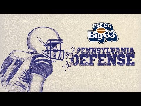 Big 33 Team Pennsylvania Defense 2018
